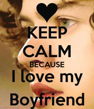 Keep Calm Because Love
