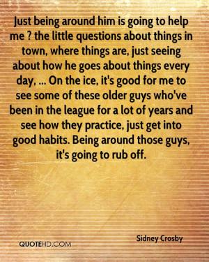 Sidney Crosby Quotes
