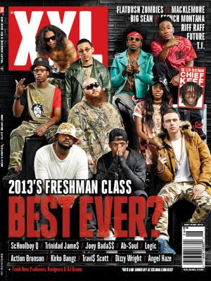 XXL Freshman Class 2013 Cover Revealed