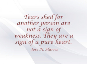 Quote by American author and poet José N. Harris.