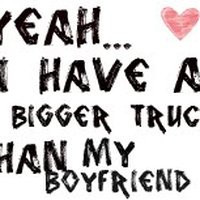 country girl truck photo: girl truck quote trucj.jpg