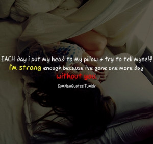 bed, girl, love, quote, sad