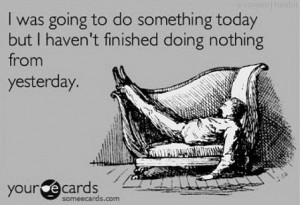 lazy, nothing, quote, something, text, today, yesterday
