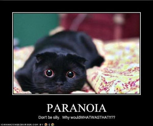 December 21st, 2012 and Paranoia