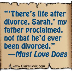 Must Love Dogs_divorce