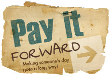 "Pay it Forward"" winner on 04-16-2012. Their new ""Pay it Forward ..."
