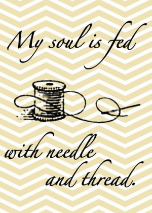 Free Printables: Inspirational Sewing Quotes to Live By - Craftfoxes