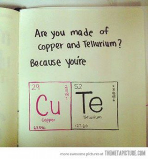 So clever #flirty #nerdy
