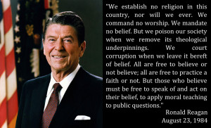 Words from Our Presidents: Reagan on Conscience
