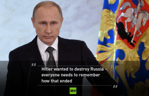 about further encroachment towards Russia's borders, President Putin ...