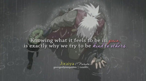 Knowing what it feels to be in pain, is exactly why we try to be kind ...