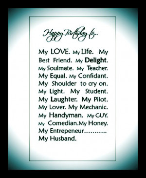 ... Husband Birthday Quotes, Things, Hubby, Happy Birthday Husband Quotes