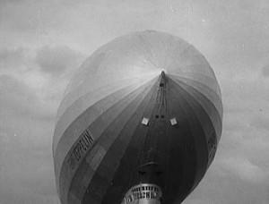 Zeppelin LZ 127 Graf Zeppelin seen in A Look Forward .