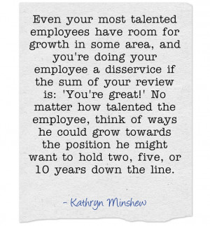 ... want to hold two, five, or 10 years down the line. – Kathryn Minshew