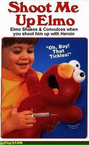 Shoot Me Up Elmo Funny