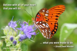 Sayings, Quotes: Orison Swett Marden