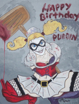 Harley's Birthday Wishes by ultrafishbulb