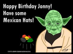 Star Wars Yoda Birthday...