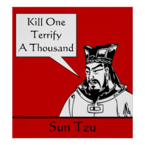 Sun Tzu and Quote Posters