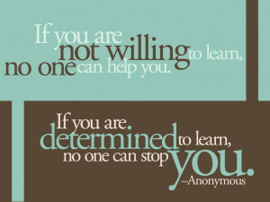 人生格言带字图片-如果你不愿意学习,没人能够帮助 ...