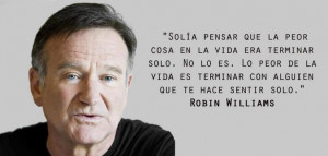 Robin Williams Spanish Quote, awesome.