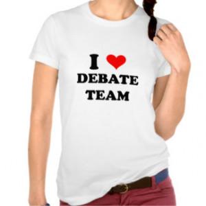 Debate Team T-shirts & Shirts