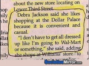 dollar store vs wal-mart