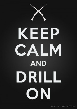 keep calm and drill on,. #riffles #spinning #raiders #favorite