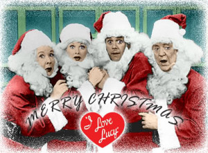 TV I Love Lucy Merry Christmas Image