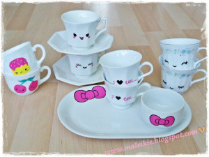think they are perfect for a kawaii tea party