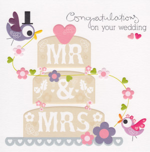 Displaying 19 Images For Congratulations On Your Marriage Cards/feed ...