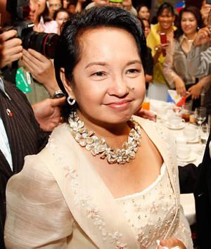 photo dated November 13 2009 shows president Gloria Macapagal Arroyo