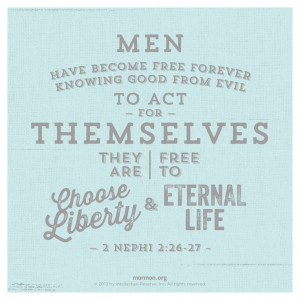 , Agency Lds, Book Of Mormons Scriptures, Lds Quotes, Church Quotes ...