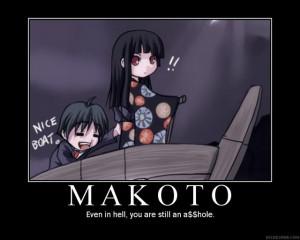 School Days makotos trip to hell
