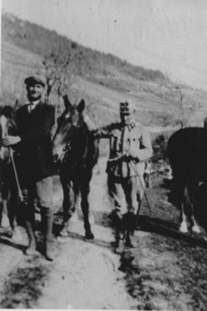 на фото - Музиль в Италии, 1917)
