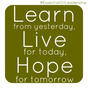 ... hope #inspire #EssentialOilLeadership #quote #wordstoliveby #doterra