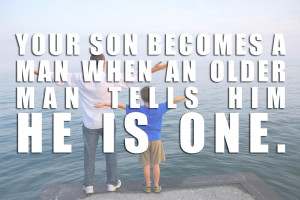 Father And Son Quotes Father son ocean