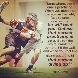 inspiration #lax #sports #athlete #quotes #practice #hardwork (Taken ...