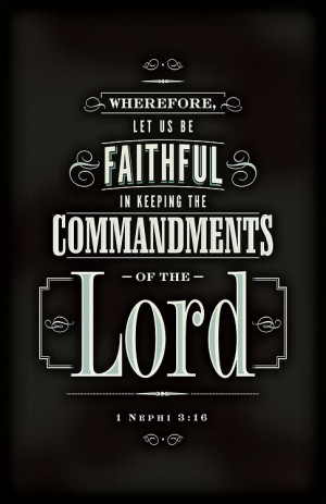 The scripture the LDS Primary children will be memorizing in July 2012 ...