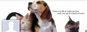 Facebook Cover Photo Animal Friendship Quote large high resolution ...