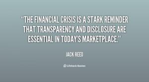 Financial Crisis Quotes