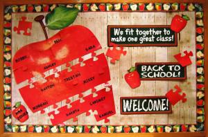 Welcome Apple Bulletin Board Set. Retrieved Feb 10, 2011, from: http ...