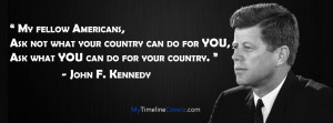 John F. Kennedy Cover Photo