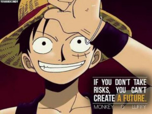 Luffy's Epic Quote On Risk!