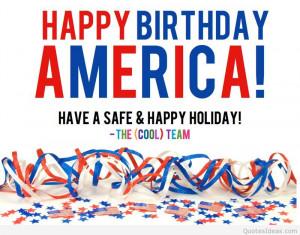 Happy Birthday America 4th of july 2015