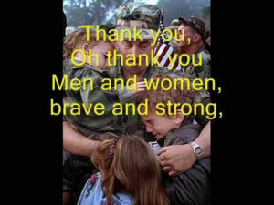 ... Veterans Day quotes, sayings, poems and song say Thank you Veterans