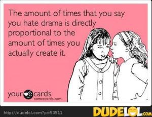 hate drama
