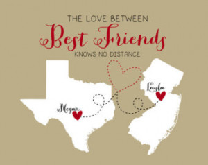 long distance friendship quotes distance relationship sayings stories ...