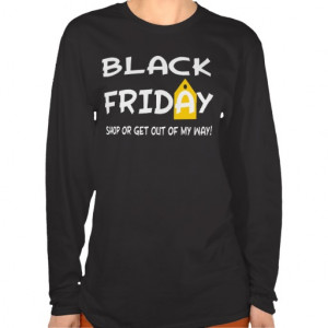 Funny Black Friday Yellow Tag T-shirt