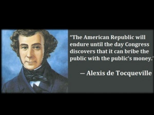 Alexis De Tocqueville on American Government.